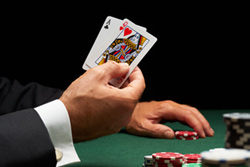 Liczenie kart w blackjack
